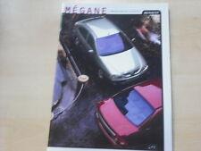 52164) Renault Megane + Classic Prospekt 02/1999