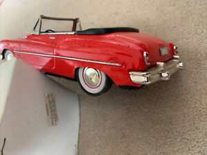 Large 1970s Vintage Tinplate Convertible American Car Toy Model & Original Box