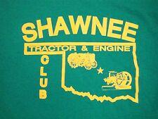 /Shawnee Tractor Engine Club Oklahoma Farming Heritage Festival 50/50 T Shirt L