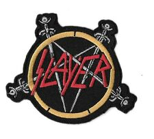New Slayer ' Sword' 3 X 3 1/2   Inch Iron on Patch Free Shipping