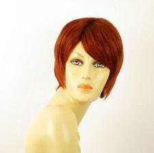 wig for women 100% natural hair copper intense ref  SOLENE 130 PERUK