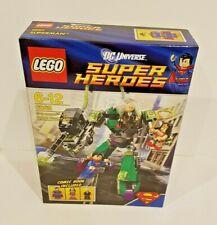 LEGO DC Comics Super Heroes Superman Vs. Power Armour Lex (6862) Brand New rare