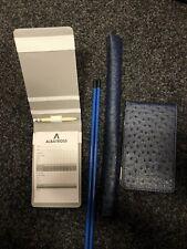 Ostrich Tour Issue Scorecard Holder • Alignment Stick Cover Plus 2 Free Sticks •