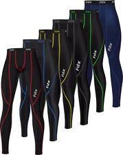 FDX Mens Compression Base layer skin Tights, Pants, running, Gym, Yoga, shorts