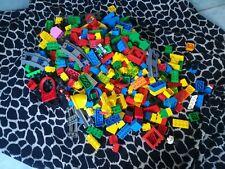 LEGO DUPLO - 1 KG - Steine Schienen Häuser Wände Platten Sammlung - Konvolut
