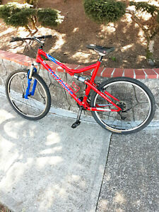 Gary Fisher Sugar 3 Full Suspension Mountain Bike Excellent Condition