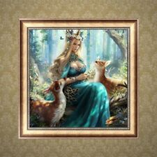 UK Full Drill Princess 5D Diamond DIY Embroidery Painting Poster Decor Craft MA