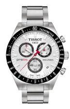 TISSOT MENS PRS516 CHRONOGRAPH WATCH T0444172103100 SILVER DIAL RRP £350.00