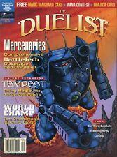 THE DUELIST MAGAZINE 19 WOTC Oct-97 NM! FANTASY RPG