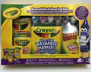 CRAYOLA  Colouring Set Art & Craft Crayons Markers Colouring Pens KIDS ART