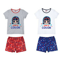 LOL Surprise Short Sleeve Pyjamas for Girls Age: 4 to 10 Years