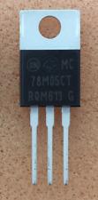 2 pcs. MC78M05CT  ONSEMI  U-Spannungsregler  LDO  5V  0,5A  TO220  NEW