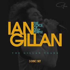 Ian Gillan - The Voice Of Deep Purple: The Gillan Years (2017)  3CD  NEW/SEALED