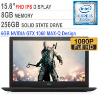"Dell Gaming G3 Intel Core i5-8300H / 6GB GTX 1060 / 256GB SSD / 8GB / 15.6"" FHD"