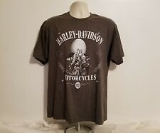 Harley Davidson Mens Large Yosemite Sam Old Timer Gray Looney Tunes TShirt