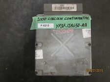 00 LINCOLN CONTINANTAL ECU #YF3F-12A650-AA  F-0213 *See item description*