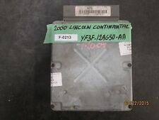 00 LINCOLN CONTINANTAL ECU #YF3F-12A650-AA  F-0213 *See item description*