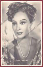CLARA CALAMAI 08 ATTRICE ACTRESS CINEMA MOVIE - PRATO Cartolina FOTOGRAFICA 1942