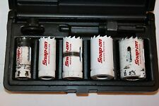 "SNAP-ON TOOLS 7-PIECE Hole Saw and Arbor KIT 3/4–1-1/4"" LHS606D"