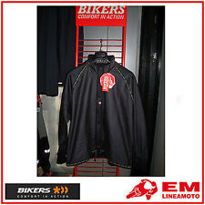 GIACCA ANTIVENTO MOTO BIKERS JACKET GORE REVERSIBLE XXL