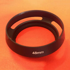 Lenses Aluminum 48mm LENS HOOD Suitable For Cannon Canonet QL17 GIII Camera ,fr