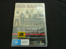 IRON MAIDEN AND THE NWOBHM ULTRA RARE SEALED AUSSIE DVD!