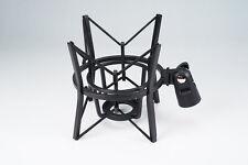 Oktava Elastic Suspension Shockmount for LDC/Ribbon Studio Microphones - Black