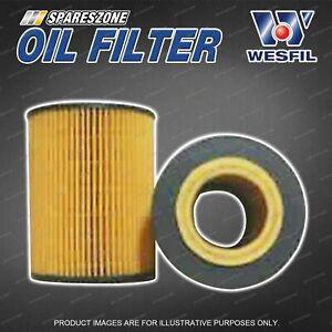 Premium Quality Wesfil Oil Filter for Bmw 523i 525i 528i 530i E39 E60 6Cyl 24V