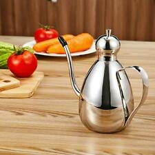 Olive Oil And Vinegar Stainless Steel Bottle Can Kitchen Cooking Pot Tools 500ml