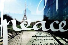 TRAVEL POSTER Paris Peace Wall