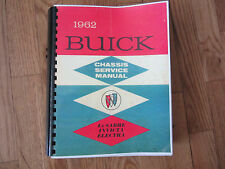 1962 Buick  LeSabre, Invicta, and Electra Chassis  Service Manual