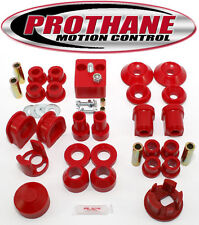 Prothane 75-84 VW Rabbit /Jetta /Golf Complete TOTAL Suspension Bushing Kit Red