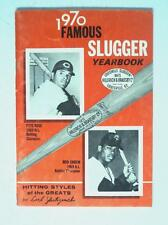 RARE 1970 Famous Slugger Baseball YearBook Book Magazine Twins Carew Reds Rose