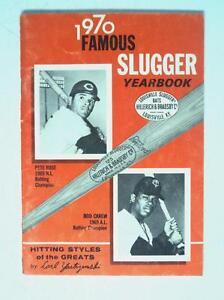 1970 Famous Slugger Baseball YearBook Book Magazine Carew Rose - FLASH SALE