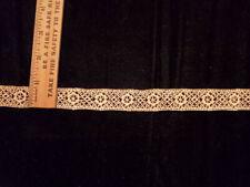 Vintage/Antique beige Cotton insertion Lace 10 Yards
