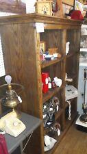 Custom Made, Solid, Oak Display / Storage Shelf