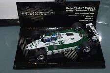 Minichamps 1/43 F1 WILLIAMS FW08 KEKE ROSBERG 1982 - WORLD CHAMPIONS COLLECTION