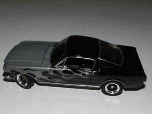 1/24 Johnny Lightning 1965 Ford Mustang Fastback ( Silver, Black w/ black int.)