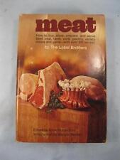 Meat Vintage Cookbook Book Copyright 1971 The Lobel Brothers A Richardson (O2)