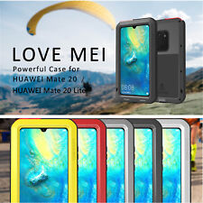 LOVE MEI Aluminum TPU Metal Cover For Huawei Mate 20 /Mate20 Lite Silicone Case