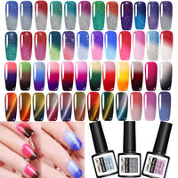 LEMOOC Thermique Gel Polish Vernis à ongles Color Changing Manucure 58 Colors