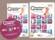 Rare !!! L'ENTRAINEUR CEREBRAL ET SPORTIF : Indispensable sur Wii Wiiu