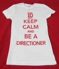 Juniors NEW One Direction 1D Keep Calm And Be A Directioner T-Shirt Size XS