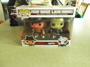 Pop Vinyl Freddy Krueger & Jason Voorhees Bloody 2 Pack