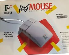 Logitech First Mouse Serial Version 1991 Windows 3 Compatible PS/2 compatibles