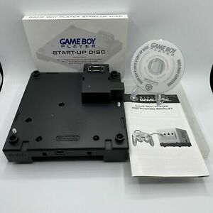 Nintendo GameCube / Game Boy Player Accessory with Start-Up Disc
