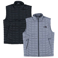 The North Face Mens Puffer Vest Thermoball Sleeveless Jacket Insulated Packable