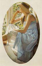 """Steve Hanks, """"Senesa"""", open ed small framed & matted print, 13.5 x 10"""