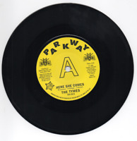THE TYMES Here She Comes / Anymore NEW NORTHERN SOUL DEMO 45 (OUTTA SIGHT) 7""