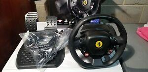 Thrustmaster T80 Ferrari 488 GTB Edition 28cm Gaming Steering Wheel for Sony PS4